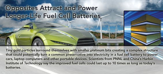 Opposites Attract and Power Longer-Life Fuel Cell Batteries