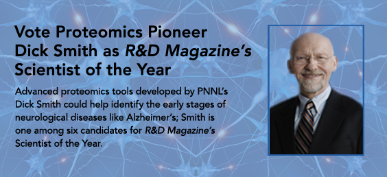 Advanced proteomics tools developed by PNNL's Dick Smith could help identify the early stages of neurological diseases