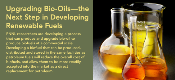 Upgrading Bio-Oils—the Next Step in Developing Renewable Fuels