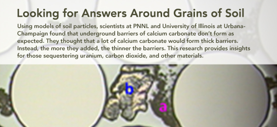 Looking for Answers Around Grains of Soil