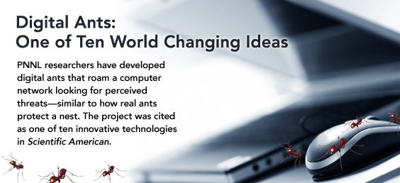 Digital Ants: One of Ten World Changing Ideas