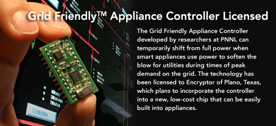 Grid Friendly Appliance Controller Licensed