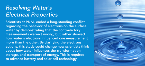 Resolving Water's Electrical Properties