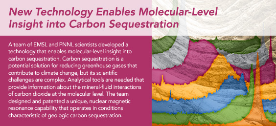 New Technology Enables Molecular-Level Insight into Carbon Sequestration