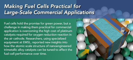 Making Fuel Cells Practical for Large-Scale Commercial Applications