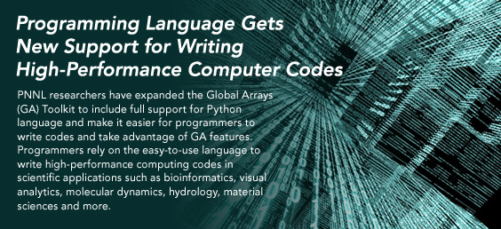 Programming Language Gets New Support for Writing High-Performance Computer Codes