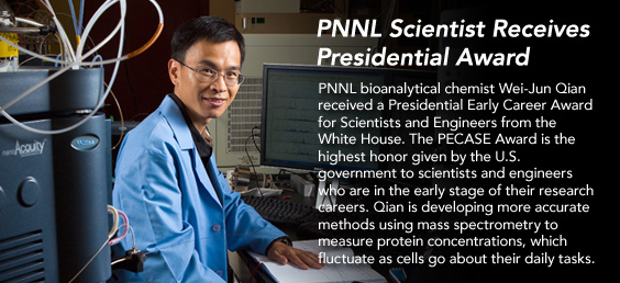 PNNL Scientist Receives Presidential Award