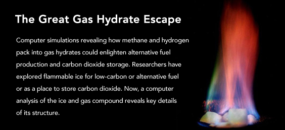 The Great Gas Hydrate Escape