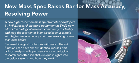 New Mass Spec Raises Bar for Mass Accuracy, Resolving Power