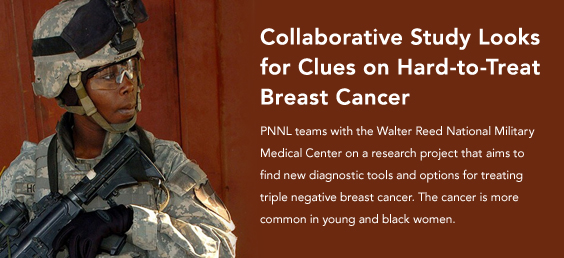 Collaborative study looks for clues on hard-to-treat breast cancer