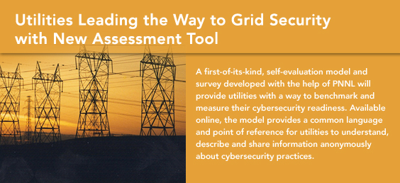 Utilities Leading the Way to Grid Security with New Assessment Tool