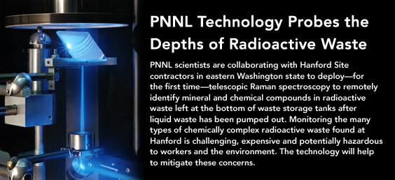 PNNL Technology Probes the Depths of Radioactive Waste