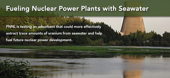 Fueling Nuclear Power Plants with Seawater