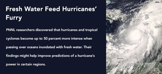 Fresh Water Feed Hurricanes' Furry
