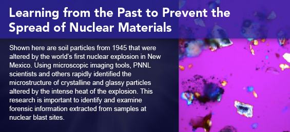 Learning from the Past to Prevent the Spread of Nuclear Materials