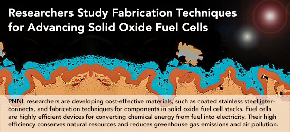Researchers Study Fabrication Techniques for Advancing Solid Oxide Fuel Cells