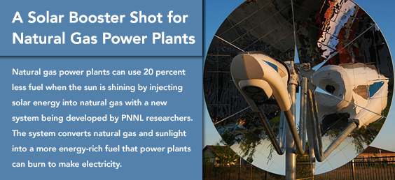 A Solar Booster Shot for Natural Gas Power Plants