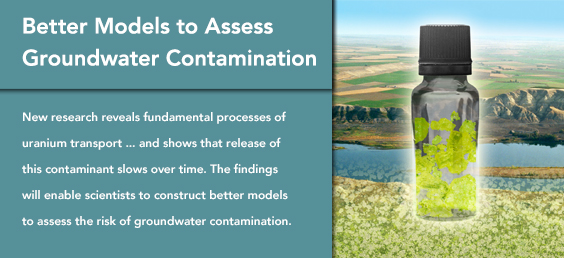 Better Models to Assess Groundwater Contamination