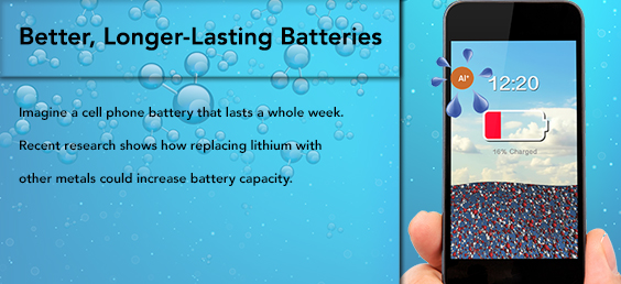 Better, Longer-Lasting Batteries