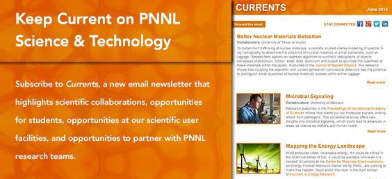 Keep Current on PNNL Science and Technology