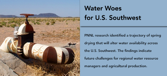 Water Woes for U.S. Southwest