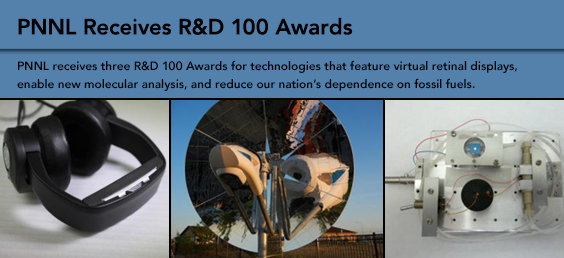 PNNL Receives R&D 100 Awards
