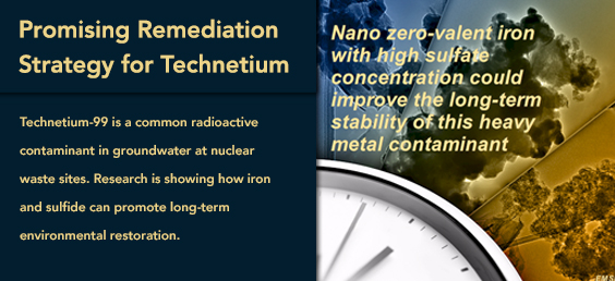 Promising Remediation Strategy for Technetium