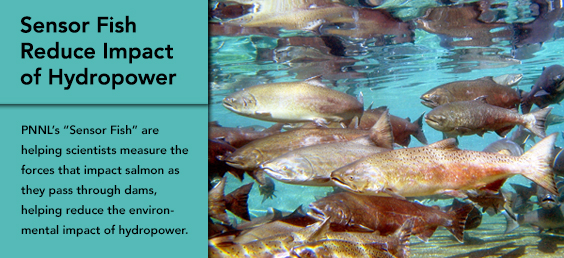 Sensor Fish Reduce Impact of Hydropower
