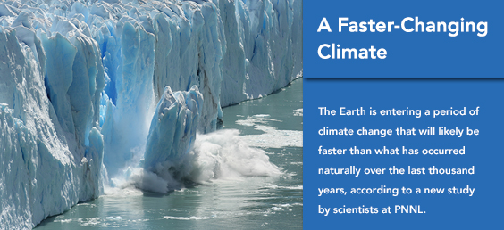 A Faster-Changing Climate