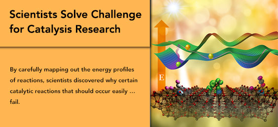 Scientists Solve Challenge for Catalysis Research