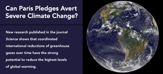 Can Paris Pledges Avert Severe Climate Change?
