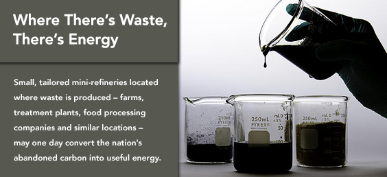 Where There's Waste, There�s Energy