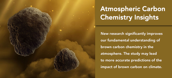 Atmospheric Carbon Chemistry Insights