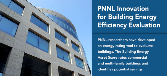 PNNL Innovation for Building Energy Efficiency Evaluation