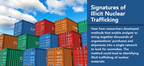 Signatures of Illicit Nuclear Trafficking