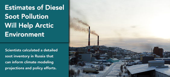 Estimates of Diesel Soot Pollution Will Help Arctic Environment