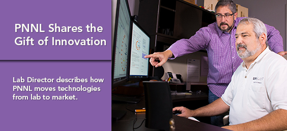 PNNL Shares the Gift of Innovation