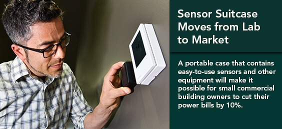 Sensor Suitcase Technology Moves from Lab to Commercial Markets