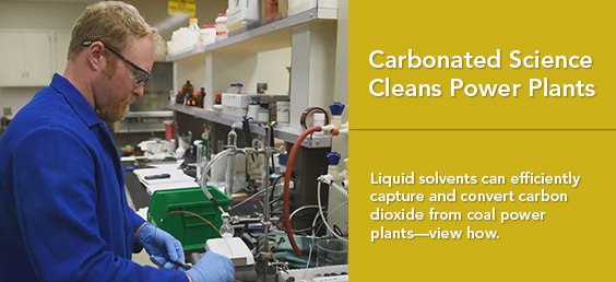 Carbonated Science Cleans Power Plants
