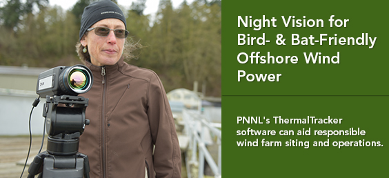 Night Vision for Bird- & Bat-Friendly Offshore Wind Power