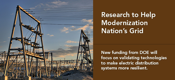 Research to Help Modernization Nation's Grid