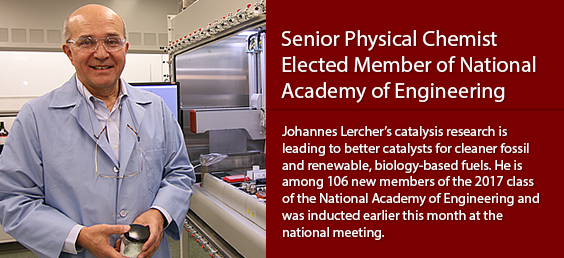 Senior Physical Chemist Elected Member of National Academy of Engineering