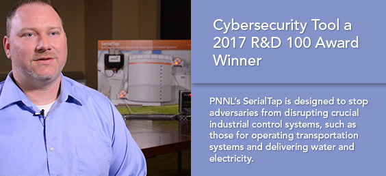 Cybersecurity Tool Nominated 2017 R&D 100 Award Finalist