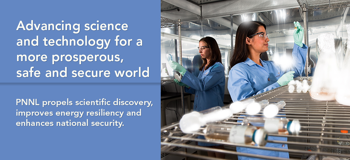 Advancing science and technology for a more prosperous, safe and secure world