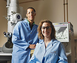 Image of young scientists