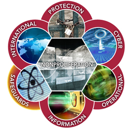 Graphic representation of Safeguards & Nonproliferation Implementation