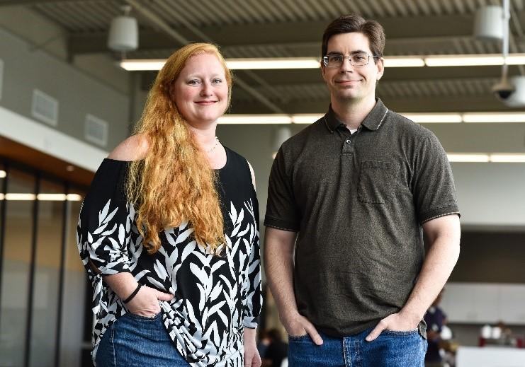 Emily Mace and Jesse Ward, NSD