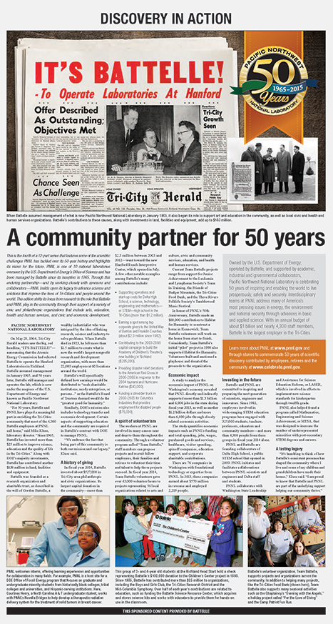 A community partner for 50 years