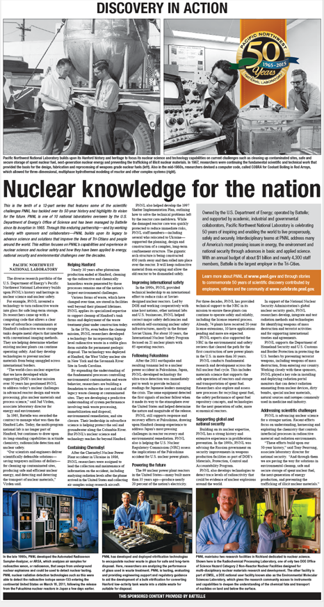 Nuclear knowledge for the nation