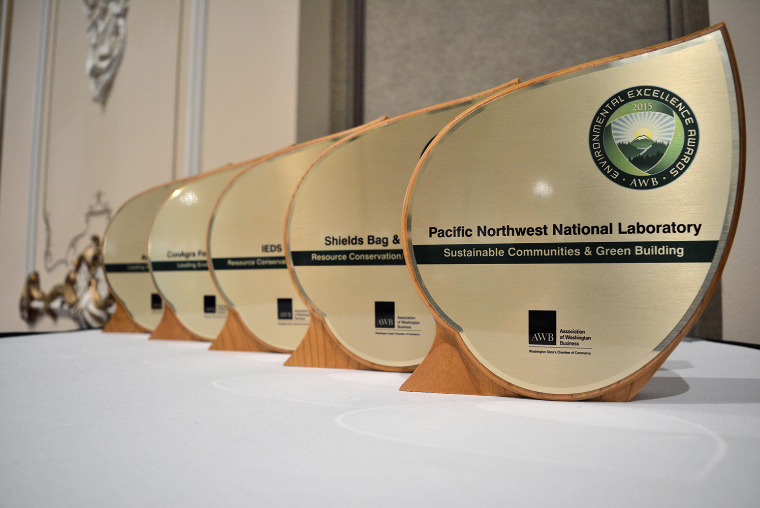 AWB presents Environmental Excellence, Leadership awards